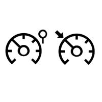 Hız regülatörü ve limitörü ikaz ışıkları